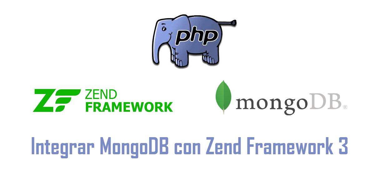 Integrar MongoDB con Zend Framework 3
